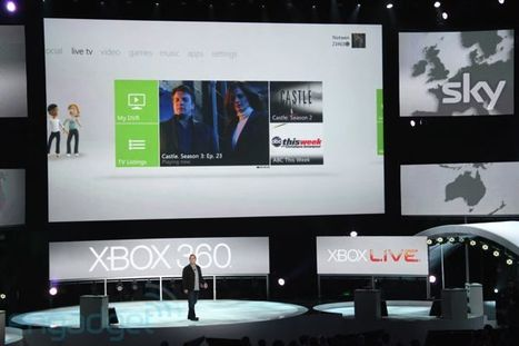 Microsoft unveils live TV streaming for Xbox 360 | TV Everywhere | Scoop.it