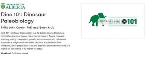 Curso Online sobre Dinosaurios, de la Universidad de Alberta, Canadá.- | Plantel 07 Buenavista acompañamiento didáctico | Scoop.it