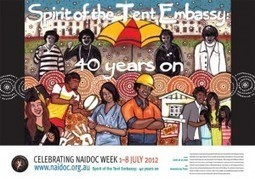 2012 National NAIDOC Poster | NAIDOC | Services and Contributions made by community organisations and groups | Scoop.it