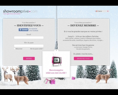 Showroomprive.com promeut le m-commerce en télévision | DigitalAdvertising | Scoop.it