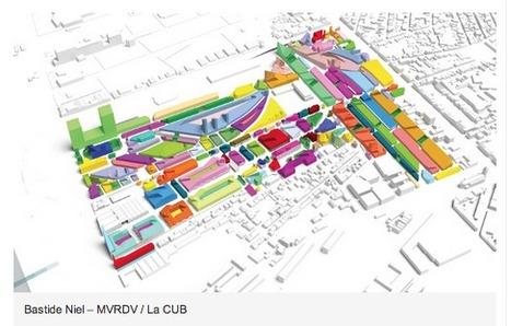 À Bordeaux, MVRDV conjugue proximité et densité pour le futur quartier Bastide-Niel | projet de bordeaux | Scoop.it