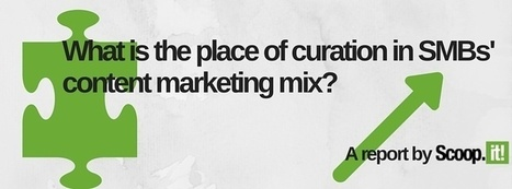 Free report: A Look at ROI: What Is The Place of Curation in SMBs' Content Marketing Mix | primeservice | Scoop.it