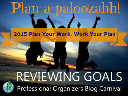 Reviewing Goals – Professional Organizers Blog Carnival ⋆ Your Organizing Business   Holistic Organizer   Scoop.it