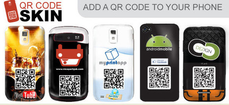 QR codes now included in innovative new smartphone skins | Education Technology - theory & practice | Scoop.it