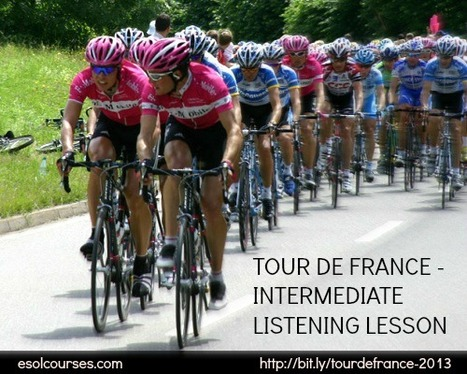 The Tour De France | Topical English Activities | Scoop.it