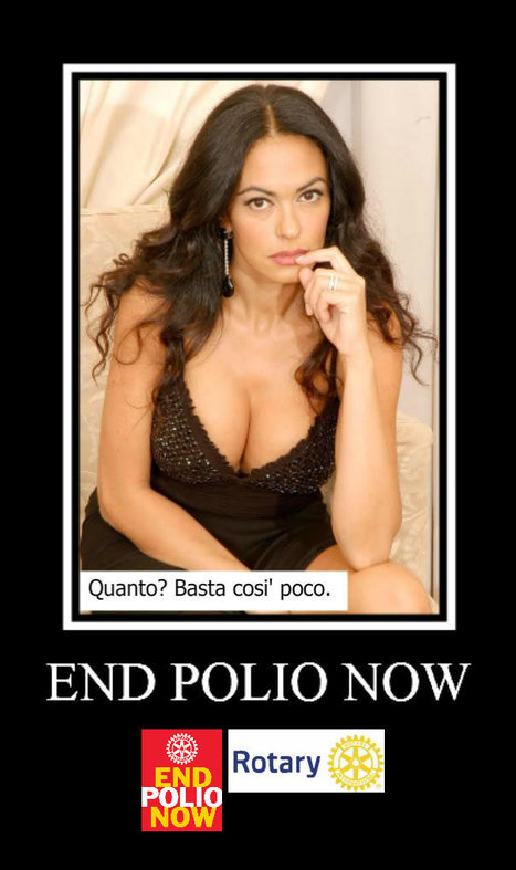 Maria Grazia Cucinotta for End Polio Now @Rotary | End Polio Now | Scoop.it