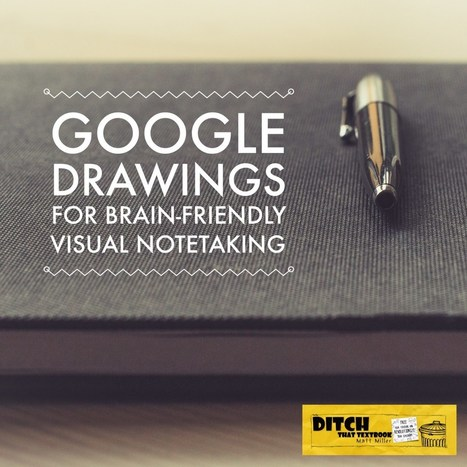 Use Google Drawings for brain-friendly visual notetaking | Daring Gadgets, QR Codes, Apps, Tools, & Displays | Scoop.it