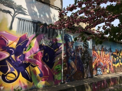 GRAFFART: l'amour du graff - Dans les pinceaux d'Émilie | Interviews graffiti et Hip-Hop | Scoop.it