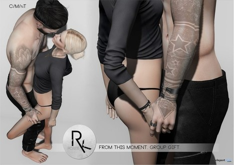 From This Moment Couple Pose Group Gift by RK Poses | Teleport Hub - Second Life Freebies | Second Life Freebies | Scoop.it