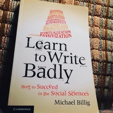 Learn to Write Badly #AcWriMo | AcWriMo | Scoop.it