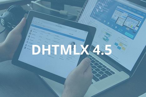 Responsive, Fresh and Ready to Go. dhtmlxSuite ... - Easy Web App Development - Quora | JavaScript and Web Development | Scoop.it