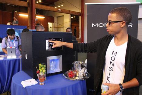 Monsieur : robot barman pour vos cocktails - GoReception | Organisation d'evenements professionnels France | Scoop.it