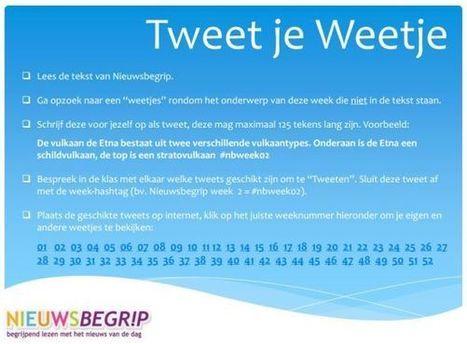 Twitterproject rond Nieuwsbegrip (begrijpend lezen) « Manssen.nl - It's all in the Cloud!   Sociale Media en school   Scoop.it