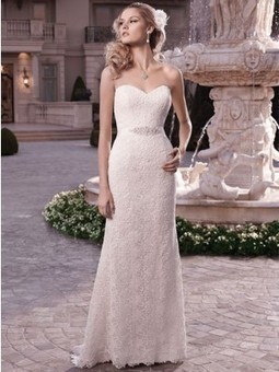 Casablanca 2131 wedding dress | Bridal Fashions | Scoop.it