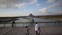 Mont-Saint-Michel (50) des visites guidées gratuites du barrage et des travaux ...!!! | visites virtuelles | Scoop.it
