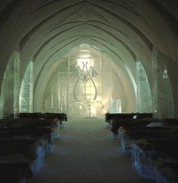 Ice Hotel Chapel - Sweden.   Magical Destination Wedding Venues   Scoop.it