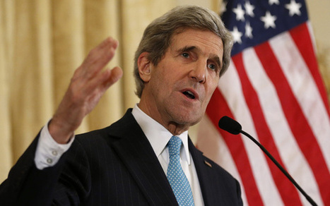 IPCC report: John Kerry warns of climate 'catastrophe' - Telegraph   Sustain Our Earth   Scoop.it