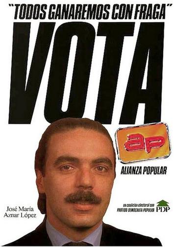 Carteles electorales, aberraciones de ayer y de hoy - La Marea   Partido Popular, una visión crítica   Scoop.it
