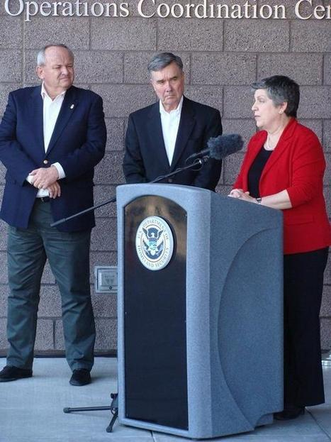 "Douglas, Arizona : News : Napolitano declares border ""healthy"" from Douglas to Tucson : Douglas Dispatch, Arizona 