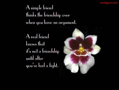 Beautiful Friendship Quote HD Wallpaper | Dil Dosti Zindagi Fun | Scoop.it