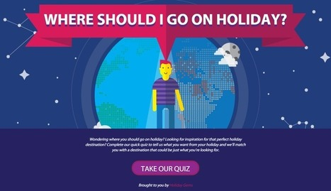Quiz: Where Should I Go on Holiday? From www.englishblog.com | Articles re. education | Scoop.it