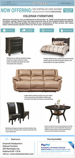 Colman Furniture Online Store | Furniture | Scoop.it