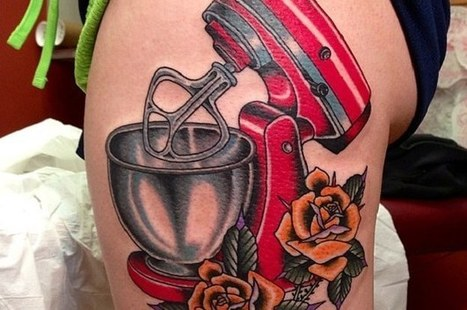 Community Post: 10 Awsome KitchenAid Tattoos | Kreativt til Kjøkkenet | Scoop.it
