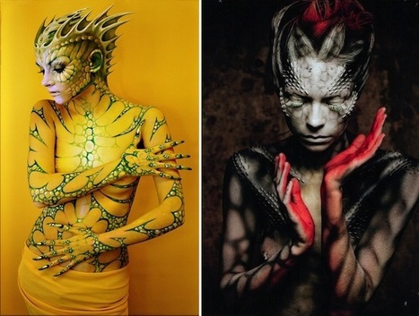 Ordinary Women Transformed into Alien Femme Fatales | Culture and Fun - Art | Scoop.it