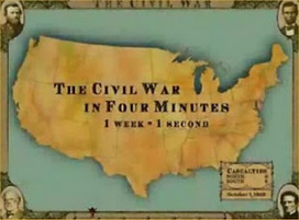 US History Teachers Blog: Civil War in Four Minutes | Lessons for the Classroom | Scoop.it