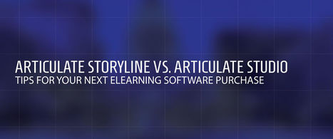 Articulate Storyline vs. Articulate Studio | Oct. 21, 2013 | Stretching our comfort zone | Scoop.it