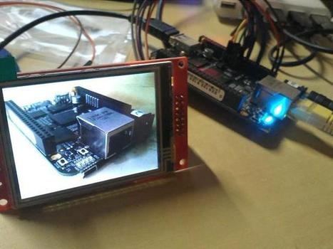 BeagleBone Black and Watterott display | Community Papermint Designs | Arduino, Netduino, Rasperry Pi! | Scoop.it