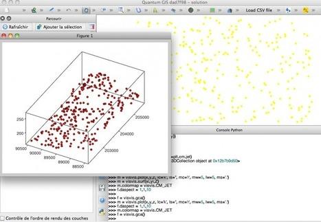 QGIS, représentation 3D des couches vectorielles (shapefiles dits 3D ou shapefiles avec attributs z) avec avec les modules Python Matplotlib ou Visvis à partir de la console Python | PortailSIG | GeoWeb OpenSource | Scoop.it