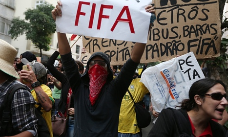 World Cup Protesters Getting Their Message Out | Activism and Organizing | Scoop.it