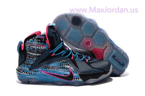 Lebron 12 Blue Black Pink 23 Chromosome Sneaker,Discount nike lebron 12 23 Chromosome blue pink black sport shoes online sale | nike sneaker store | Scoop.it