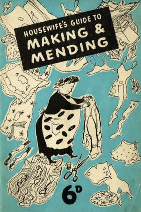 INSTANT DOWNLOAD-1940s Housewife Making and Mending wartime recycle,upcycle ebooklet-pdf | Vintage Living Today For A Future Tormorrow | Scoop.it