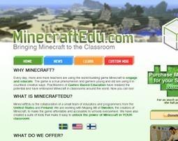 Minecraft als onderwijstool | Mediawijsheid en ICT | Scoop.it