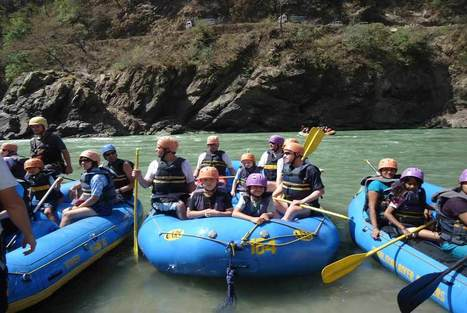 Student Outdoors at Rishikesh with Himalayan River Runners | Most Adventurous River Rafting Place in India | Scoop.it