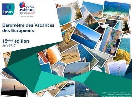 Les Européens et leurs vacances d'été 2015 - ORTA - observatoire tourisme | Le site www.clicalsace.com | Scoop.it