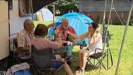 Un camping autogéré à Quiberville (Seine-Maritime) - France 3 Haute-Normandie | Camping en France et ailleurs | Scoop.it
