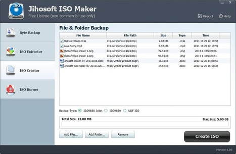 Jihosoft ISO Maker Free to Create, Extract & Burn ISO Images | How To Backup, Restore Install All Windows 8 System Drivers Free | Scoop.it
