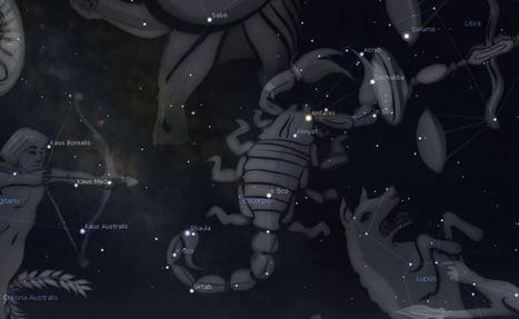 Observaciones con prismáticos; Escorpio. | Astronomía de campo | Scoop.it