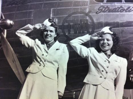 Histoire des Hôtesses de l'Air | @Ceanothe | Scoop.it