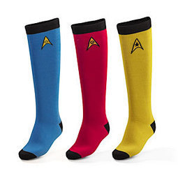 T-Shirts & Apparel : Star Trek OS 3-pack Ladies' Knee High Socks | Vulbus Fashion Factory (VIFF) | Scoop.it