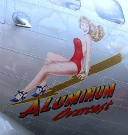 Stratfor and bomber nose art | WW2 Bomber - Nose Art | Scoop.it
