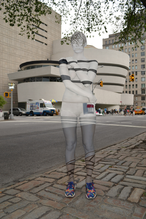Body painting urban camouflauge | Society and culture: The English speaking world | Scoop.it