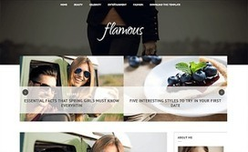 Flamous | Blogger themes | Scoop.it