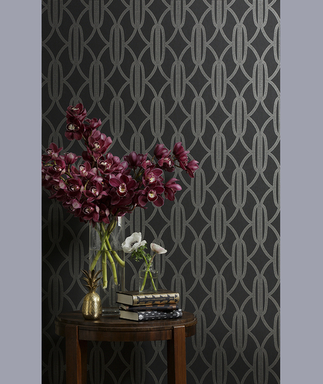 Glamorous Wallpaper with an Art Deco influence:: new collection by Catherine Martin » glamour drops | Art Decoed | Scoop.it