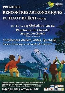Rencontres astronomiques du Haut-Buëch | Revue de Web par ClC | Scoop.it