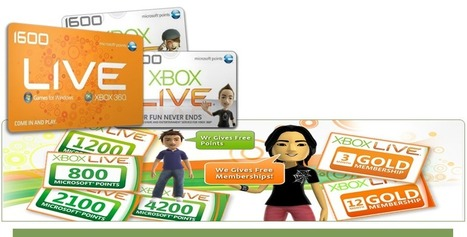 Free Microsoft and Xbox Live Coins | Free Xbox Live Gold | Scoop.it