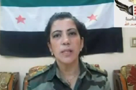 Defected woman general trains Syria's rebels | A Voice of Our Own | Scoop.it